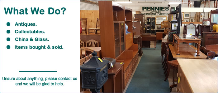 pennies antiques and second hand furniture with locations in and